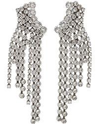 Isabel Marant - Silver Cascading Earrings - Lyst