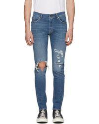 Tiger Of Sweden - Blue Evolve Jeans - Lyst