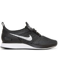 Nike - Black Air Zoom Mariah Flyknit Racer Trainers - Lyst