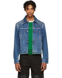 Maison Margiela - Indigo Denim Sports Jacket - Lyst