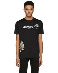 Givenchy - Black Run Wild My Child T-shirt - Lyst