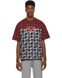 Opening Ceremony - Multicolour Plaid T-shirt - Lyst