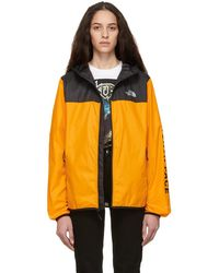 The North Face - Black And Orange Cyclone 2.0 Jacket - Lyst