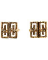 Givenchy - Gold 4g Cufflinks - Lyst