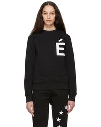 Etudes Studio - Black Story Accent Sweatshirt - Lyst