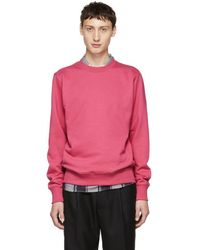 PS by Paul Smith - Pink Organic Crewneck Sweatshirt - Lyst