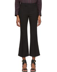 Isabel Marant - Black Lyre Trousers - Lyst