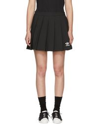 adidas Originals - Black Cirdo Skirt - Lyst