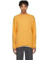 Our Legacy - Orange Mohair Popover Sweater - Lyst
