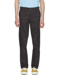 Dickies Construct - Black Straight Slim Trousers - Lyst
