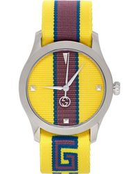 Gucci - Yellow G-timeless Watch - Lyst