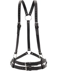 McQ - Black Leather Two Harness - Lyst