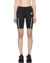 Versace - Black 80s Bicycle Shorts - Lyst