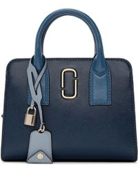 Marc Jacobs - Blue Little Big Shot Bag - Lyst