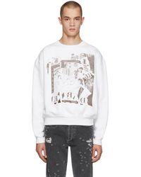 Enfants Riches Deprimes - White Bath House Orgy Sweatshirt - Lyst