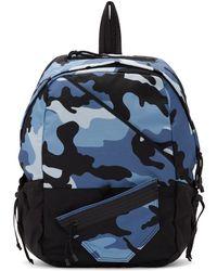 Valentino - Blue Garavani New Camo Backpack - Lyst