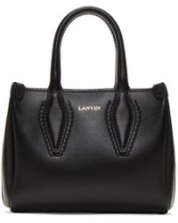 Lanvin - Black Micro Journee Bag - Lyst