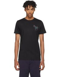 PS by Paul Smith - Black Mini Zebra Slim-fit T-shirt - Lyst