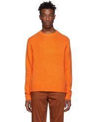 Acne Studios - Orange Peele Sweater - Lyst