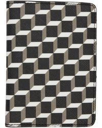 Pierre Hardy - Black And White Cube Passport Holder - Lyst