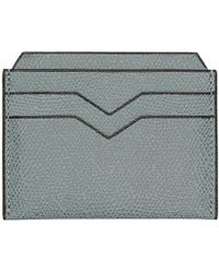 Valextra - Blue 4cc Card Holder - Lyst