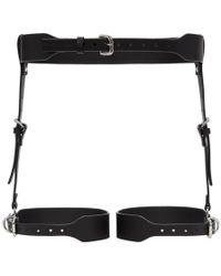 Fleet Ilya - Black Classic Suspender Harness - Lyst