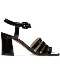 Maryam Nassir Zadeh - Black Patent Palma High Sandals - Lyst