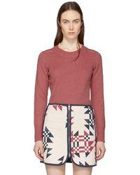Isabel Marant - Pink Depson Sweater - Lyst
