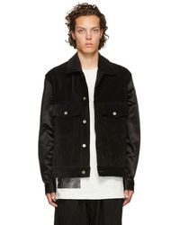 Song For The Mute - Black Worker Jacket - Lyst