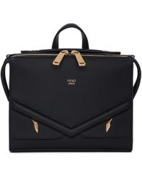 Fendi - Black I See You Messenger Bag - Lyst
