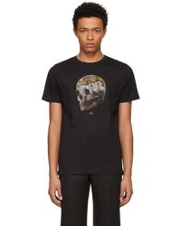 PS by Paul Smith - Black Large Skull T-shirt - Lyst