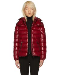 Moncler - Red Down Bady Jacket - Lyst