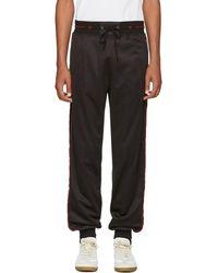 Givenchy - Black Side Band Jogging Lounge Pants - Lyst