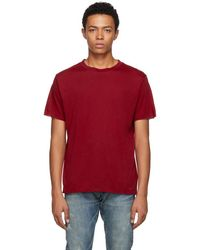 Simon Miller - Red Cotton And Cashmere T-shirt - Lyst