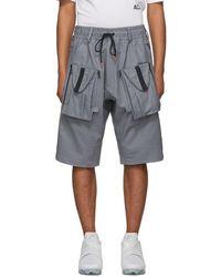 Nike - Grey Acg Deploy Shorts - Lyst