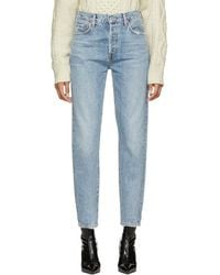 Citizens of Humanity - Blue Liya High-rise Classic Fit Jeans - Lyst