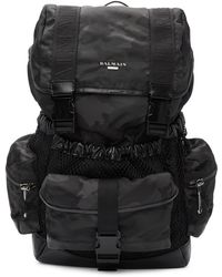 Balmain - Black Camo Elite Army Backpack - Lyst