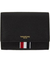 Thom Browne | Black Short Clasp Wallet | Lyst