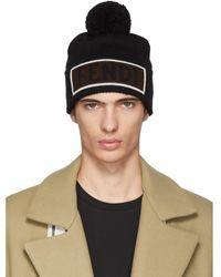 2e083020908643 Fendi Blue Logo Headband in Blue for Men - Lyst