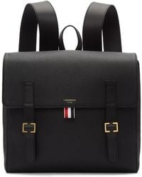 Thom Browne - Black Unstructured Book Backpack - Lyst