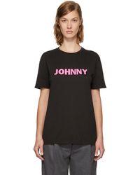 6397 - Black 'johnny' Boy T-shirt - Lyst