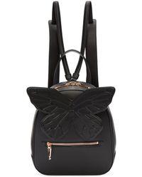 Sophia Webster - Black Kiko Butterfly Backpack - Lyst