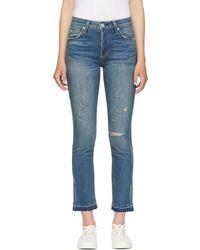 AMO - Blue Babe Jeans - Lyst
