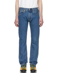 Levi's - Blue 501 Original Fit Jeans - Lyst