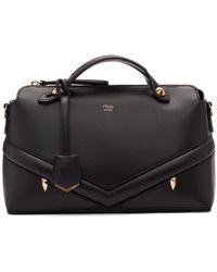 Fendi - Black Medium Bag Bugs By The Way Bag - Lyst