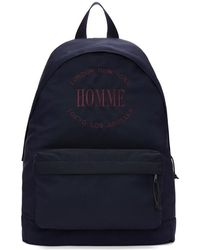 Balenciaga - Blue Homme Explorer Backpack - Lyst