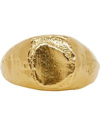 Alighieri - Gold The False Promises Ring - Lyst