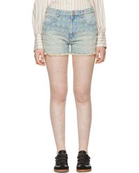 Étoile Isabel Marant - Blue Celsa Denim Shorts - Lyst