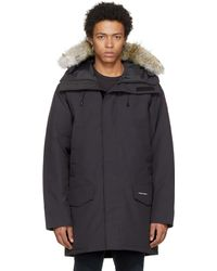 Canada Goose   Navy Down And Fur Langford Parka   Lyst