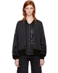 Unravel - Black 'that's My People' Jacket - Lyst